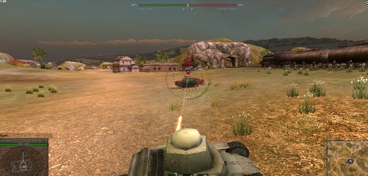 world of tanks browser game